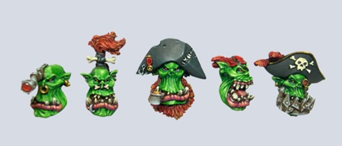 Pirate Orc Heads - Click Image to Close