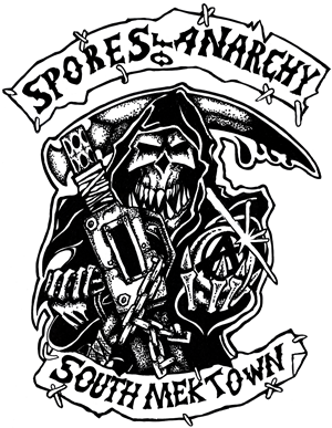 Spores of Anarchy by Darren Sampson