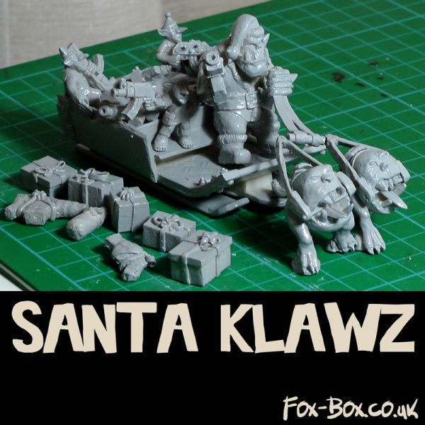 Fox Box Santa Klawz